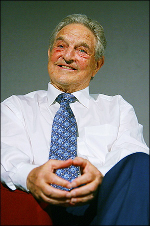 george soros girlfriend. George Soros
