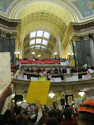 Wisconsinprotestsbylemontage