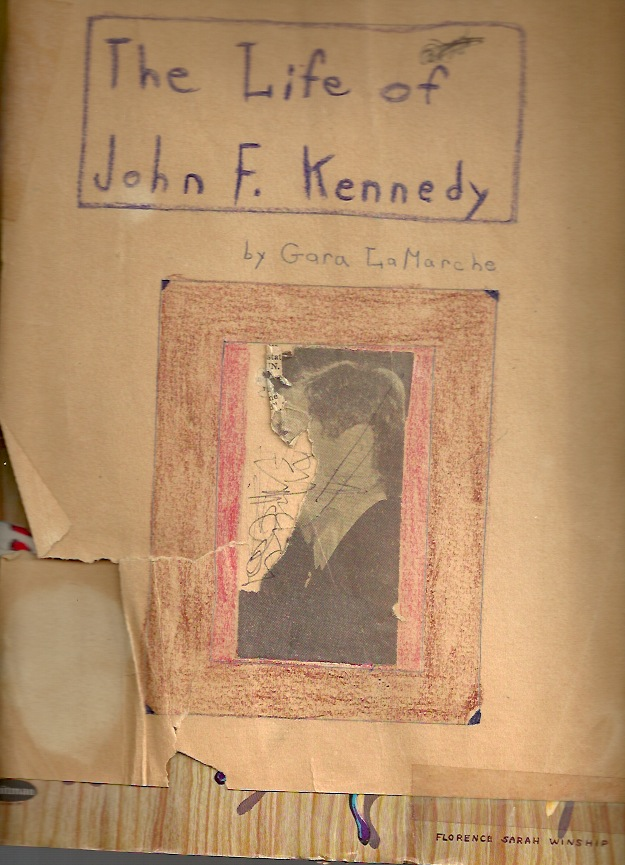 JFK scrapbook cover