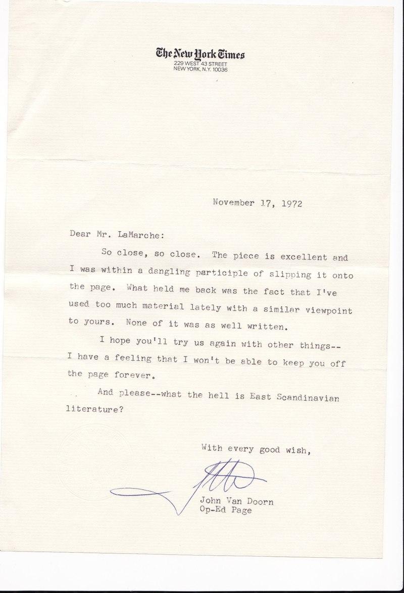 John_van_doorn_letter
